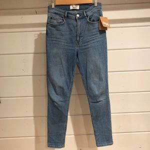 NWT REFORMATION High Rise Skinny Jeans Size 26
